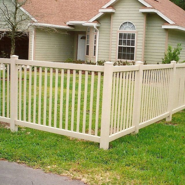 PVC Vinyl Fencing Gainesville, FL