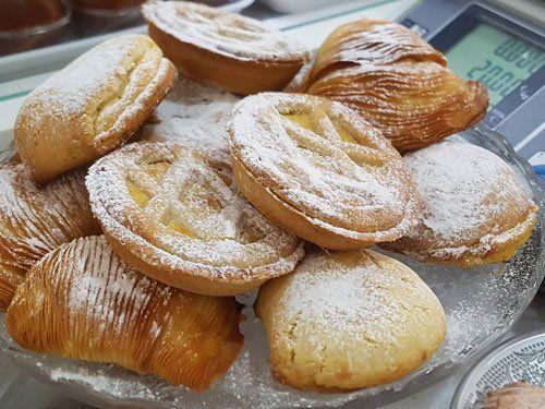 delle fette di pastiera napoletana