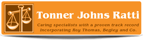 Toner Johns Ratti logo
