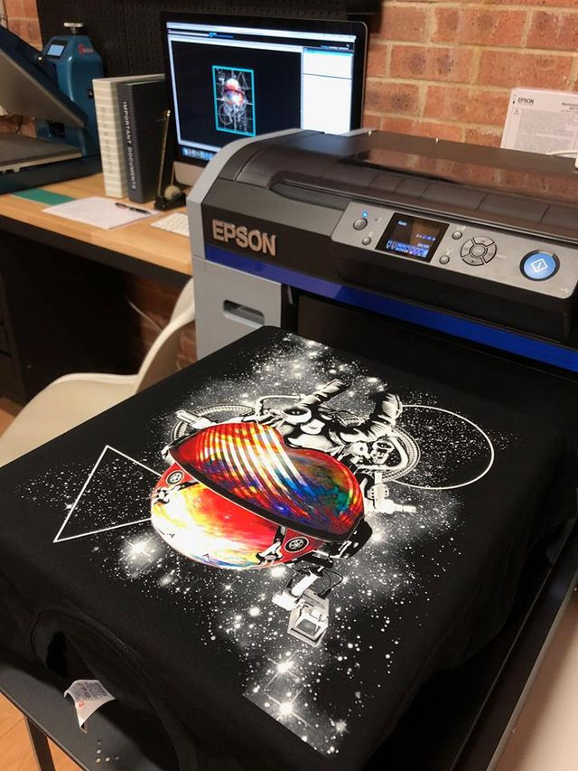 Finding a new business with DTG printing
