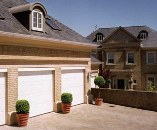 Blue Garage Door - Applegate Automated Gate & Door Systems Ltd - Automated Garage Doors - Ashford