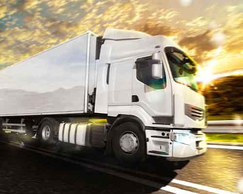 camion per spedizioni internazionali