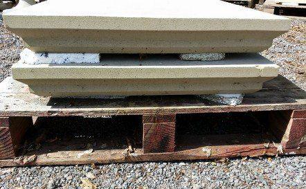 RBA0206 flat top pier caps