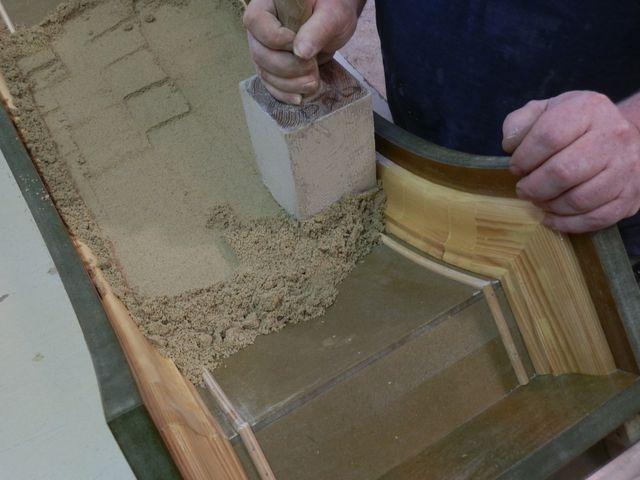 hand made stonework
