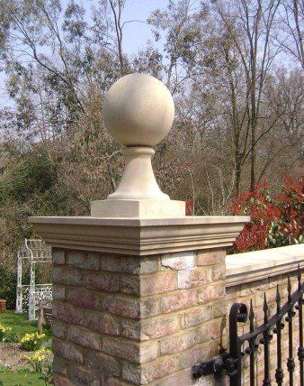 mounted Ball Finials