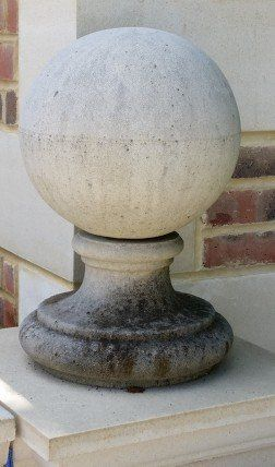 old Ball Finials