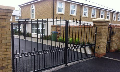 residential security gate