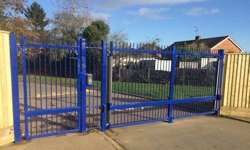 blue gate automation