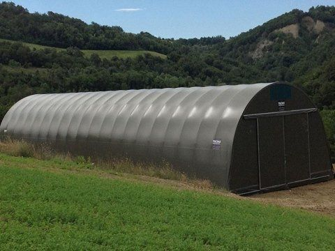PVC roofing for agriculture