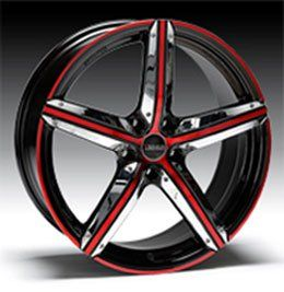 Payless Tyres Wheels Rotor Candy Red