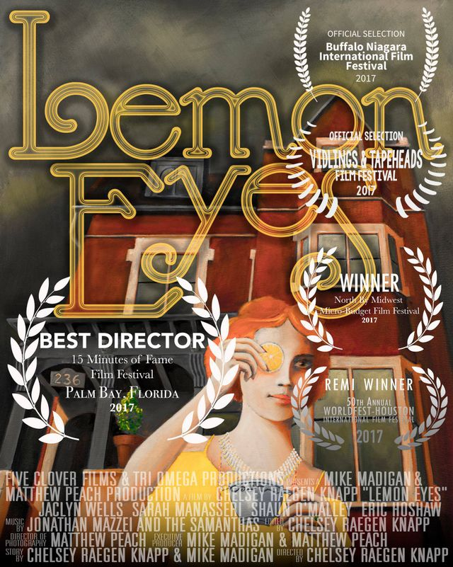 Lemon Eyes One Sheet Poster