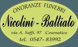 onoranze funebri nicolini battiato logo