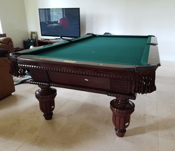 Pool Table Assembly ReFelting Houston TX - Pool table repair houston