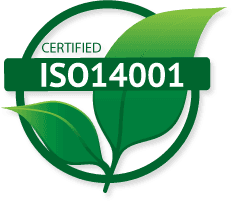 certified ISO14001