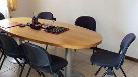 stanza riunioni dello studio commerciale