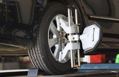 Wheel alignment in Bristol