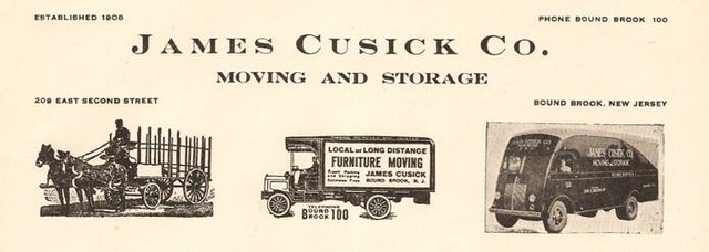 Cusick Moving U0026 Storage Celebrated Its 100th Year In Business In 2008. The  Company Was Originally Established On March 20, 1908, When James J. Cusick  ...