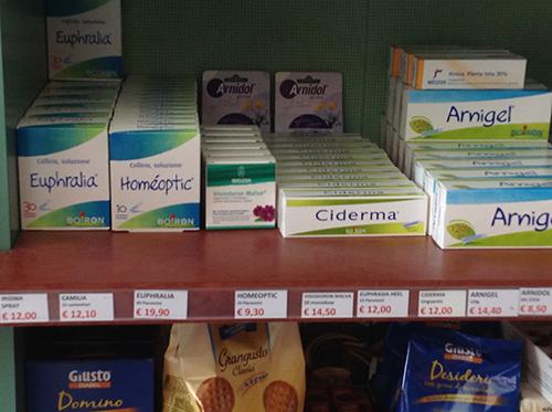 medicine e prodotti per la ristorazione
