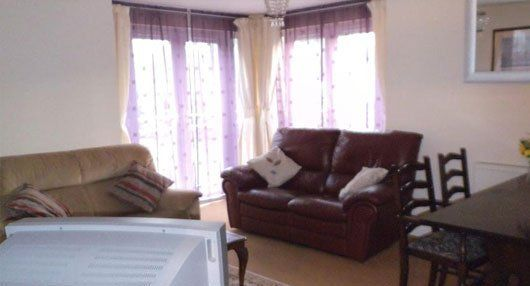 comfortable sofa