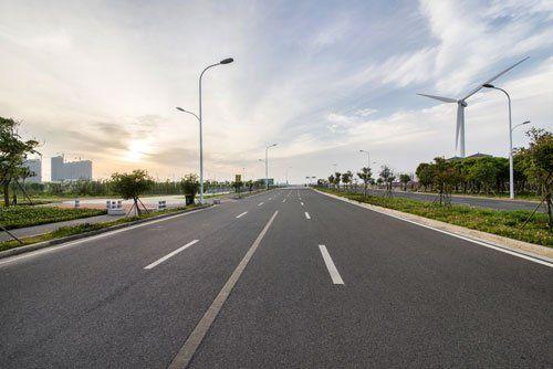 una strada statale