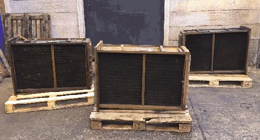 radiators supplied