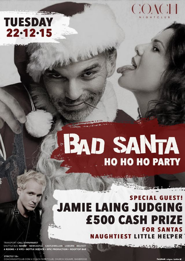 Bad santa event