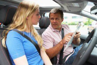 Driving Instructor Teaching Student — 5 Hour Course in Mamaroneck, NY