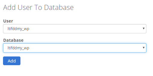 Add New User to Database