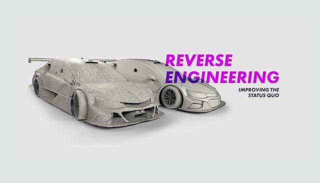 Reverse engineering a race car
