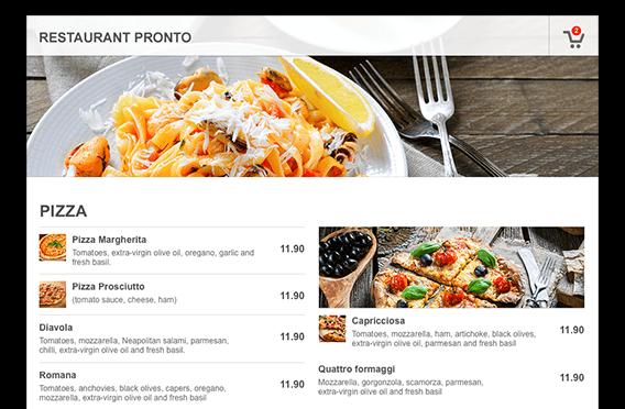 free online restaurant menu