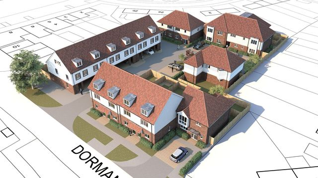 Planning permission for housing developers