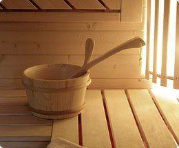 cestello per sauna