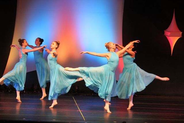 Five Teen Ballerinas