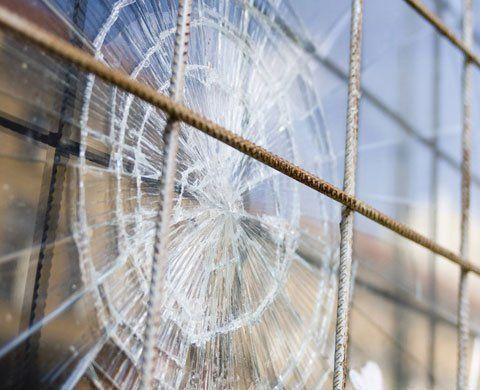 damaged glazing