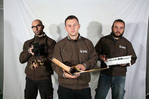 Dipendenti al lavoro all'impiantistica A.G. a Varese
