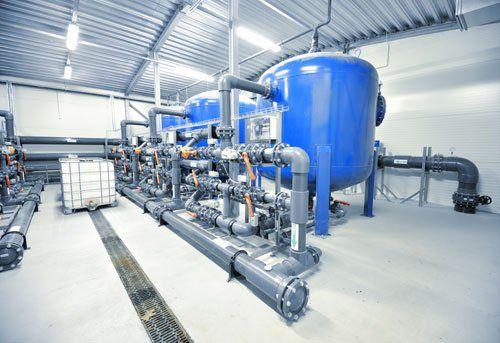 Impianto termico industriale