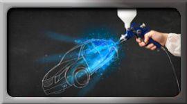 verniciatura carrozzerie autoveicoli, verniciatura non inquinante, vernici ecologiche per carrozzerie