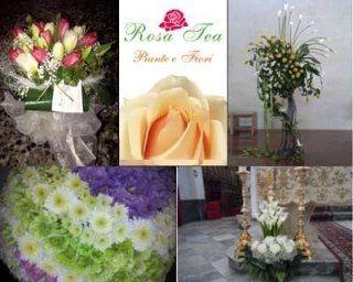 diverse personalizzazioni floreali di ROSA TEA