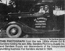 sanders supply hot springs