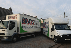 Brays Removal van