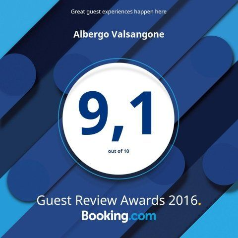 banner valutazione booking.com