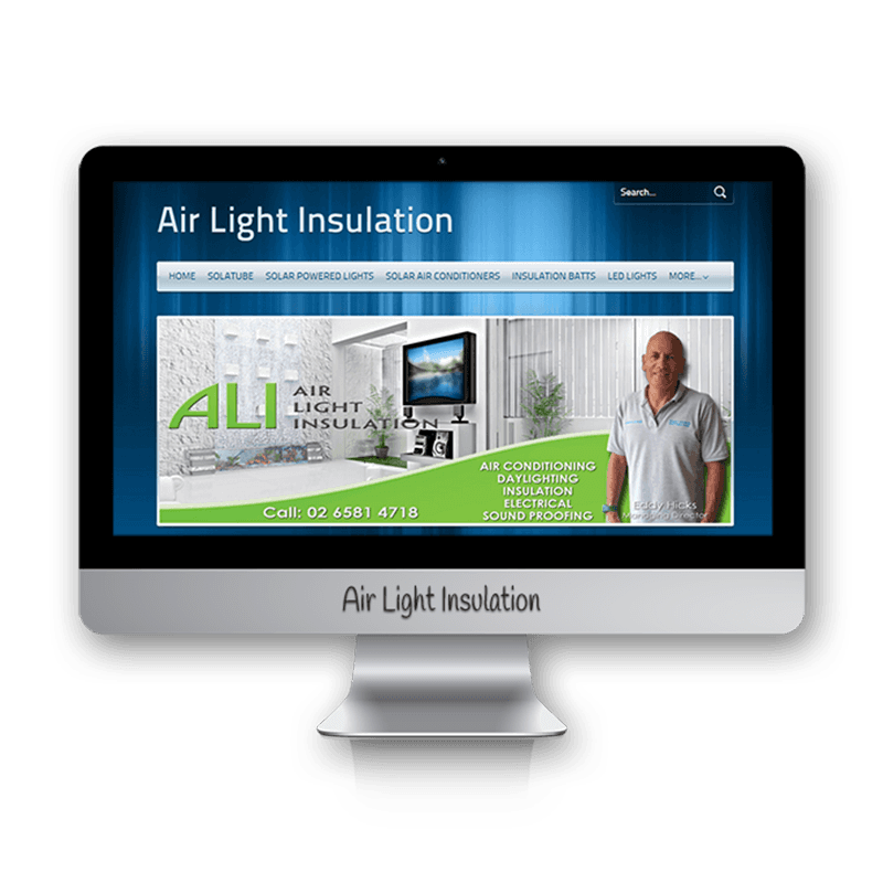 Edgezone Media's Client: Air Light Insulation