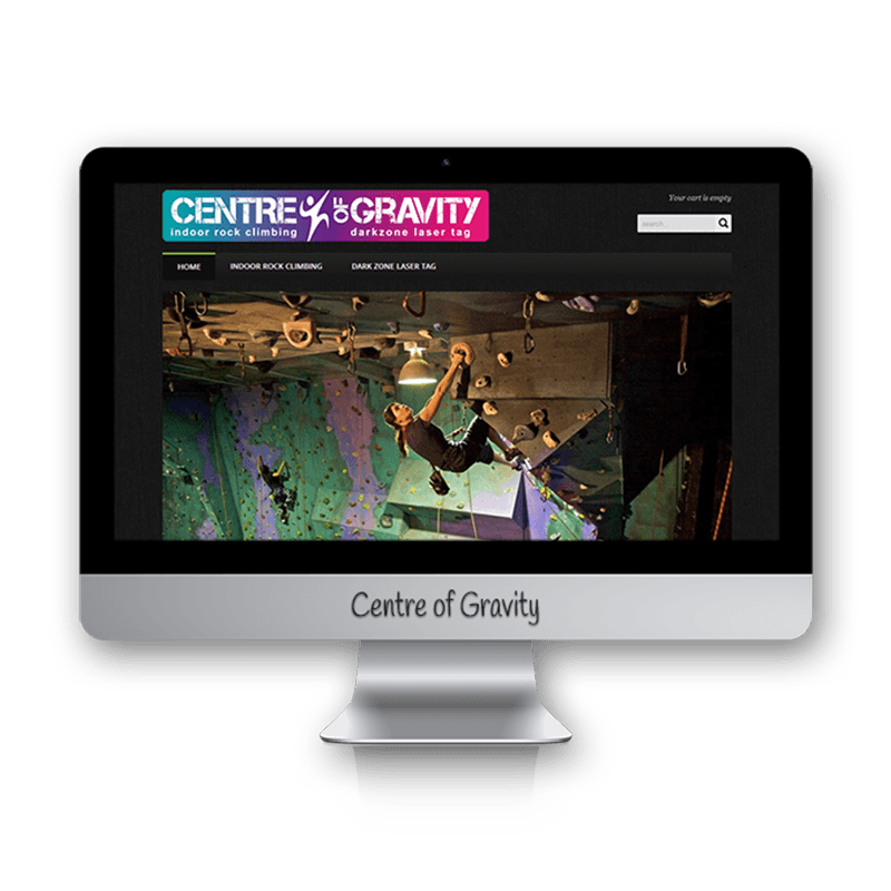 Edgezone Media's Client: Centre of Gravity Indoor Rock Climbing
