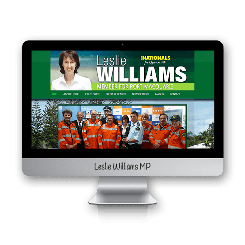 Edgezone Media's Client: Leslie Williams MP