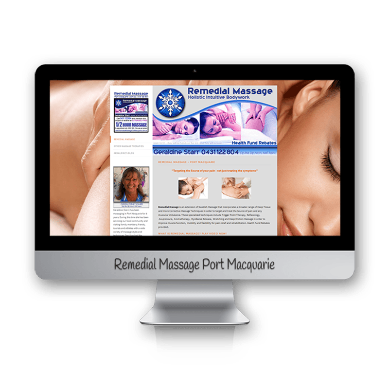 Edgezone Media's Client: Remedial Massage Port Macquarie