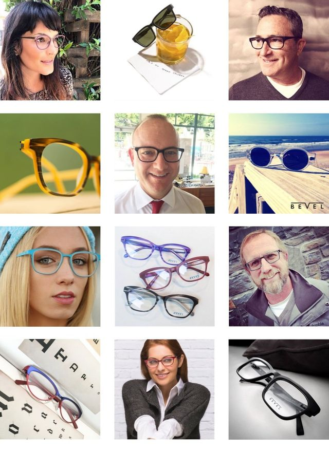 Bevel Eyewear available at Precision Vision Edmond