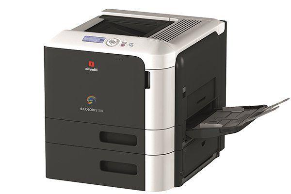 una stampante Olivetti