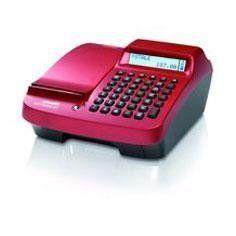 un registratore di cassa lilla