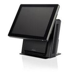 uno schermo con sistema pos nero