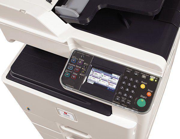 particolare di una stampante